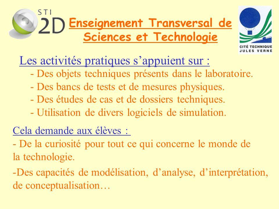 Enseignement Transversal de Sciences et Technologie