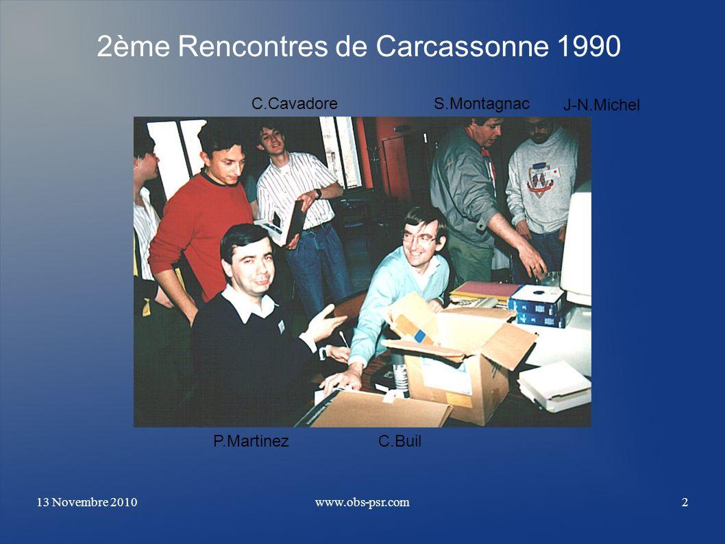 2ème Rencontres de Carcassonne 1990