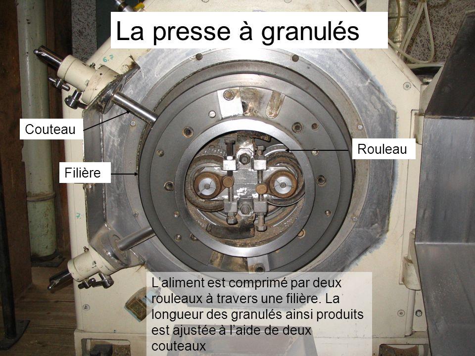 La presse à granulés Couteau Rouleau Filière