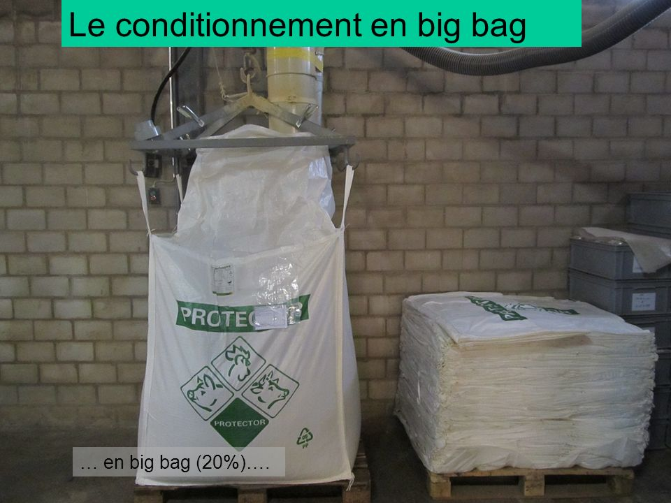 Le conditionnement en big bag