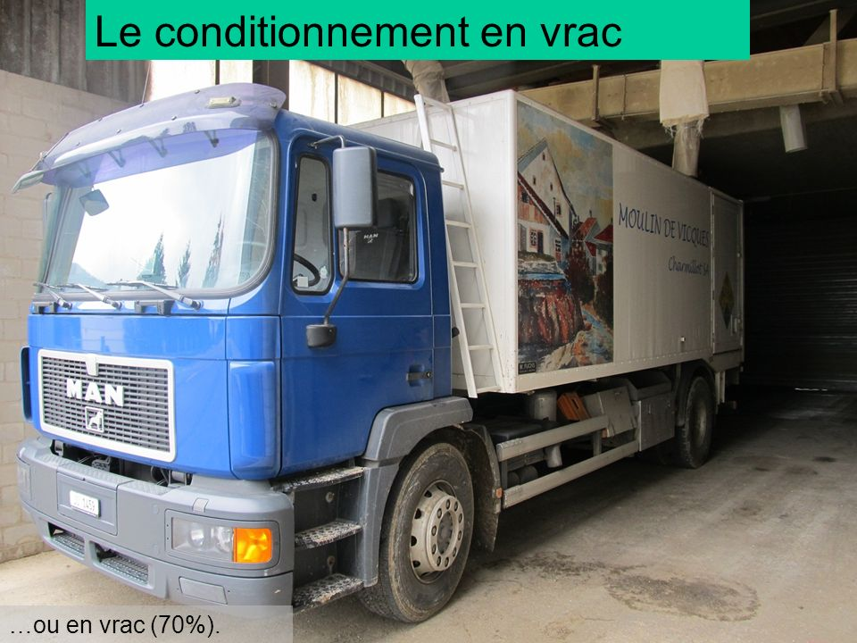 Le conditionnement en vrac