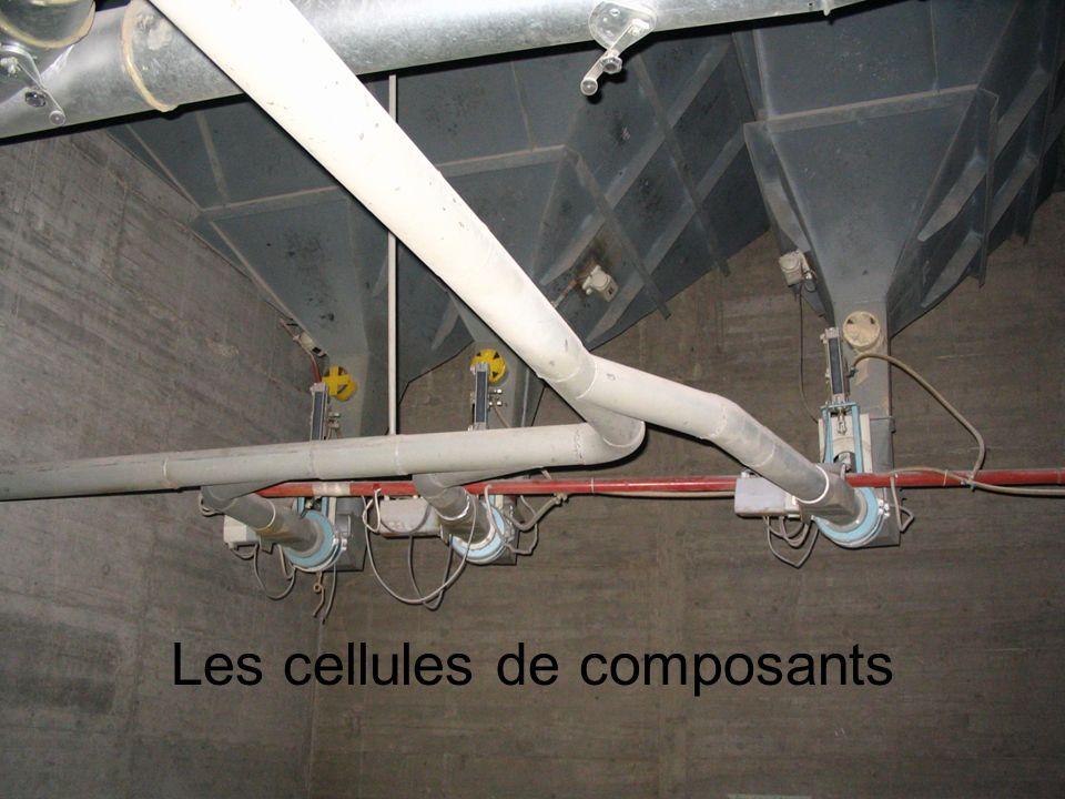Les cellules de composants