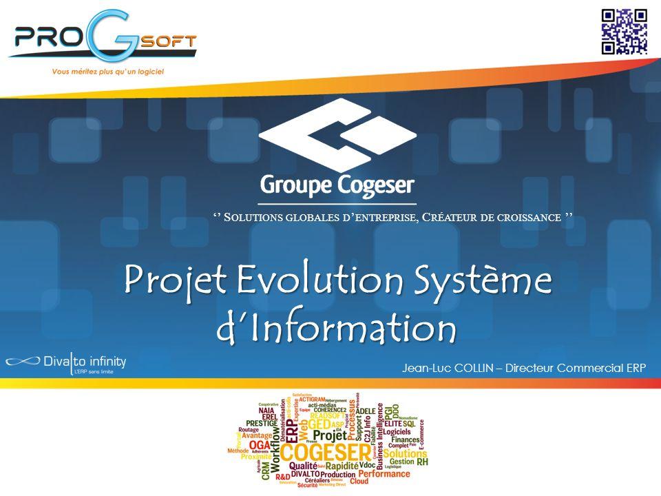 Projet Evolution Système d'Information