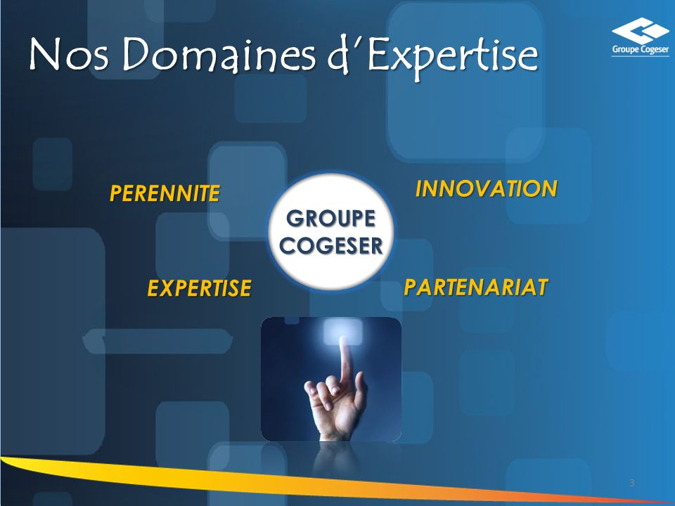 Nos Domaines d'Expertise
