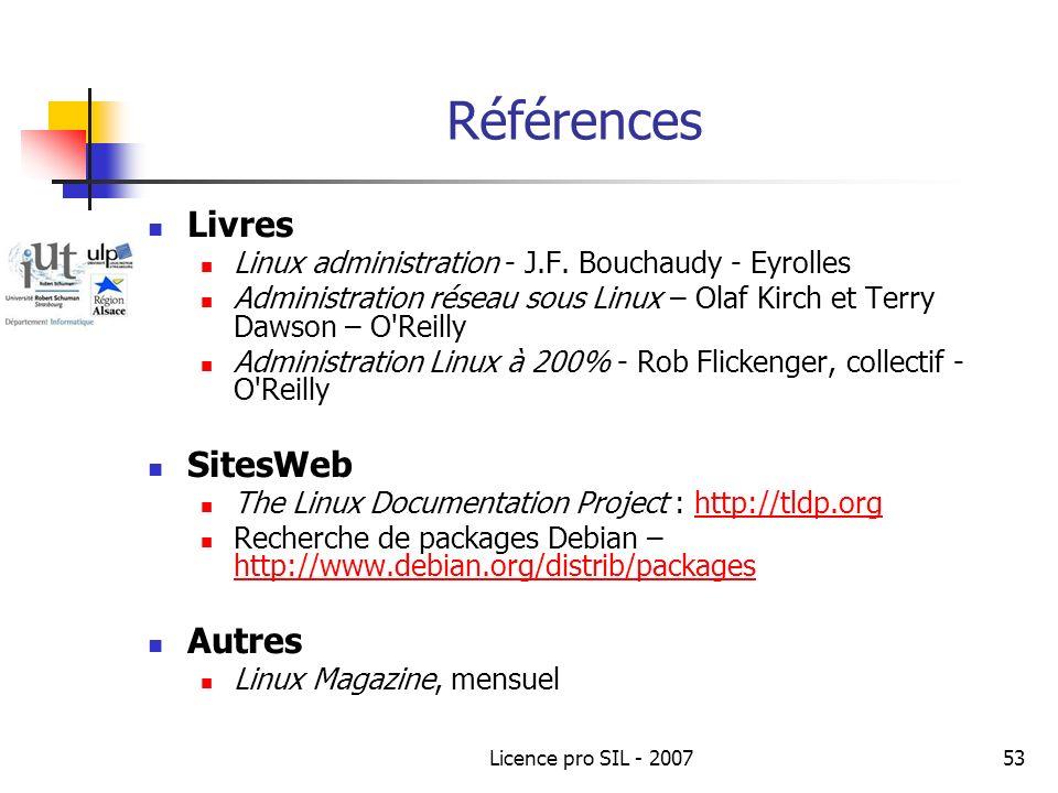 Références Livres SitesWeb Autres