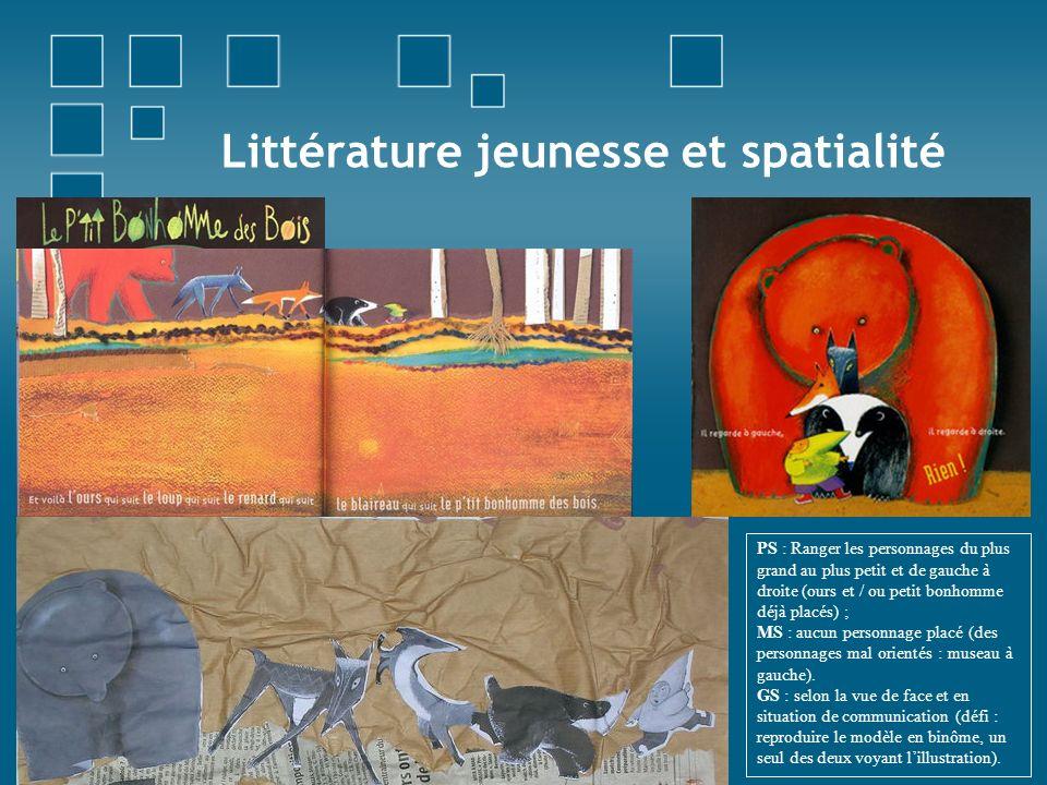 Littérature jeunesse et spatialité