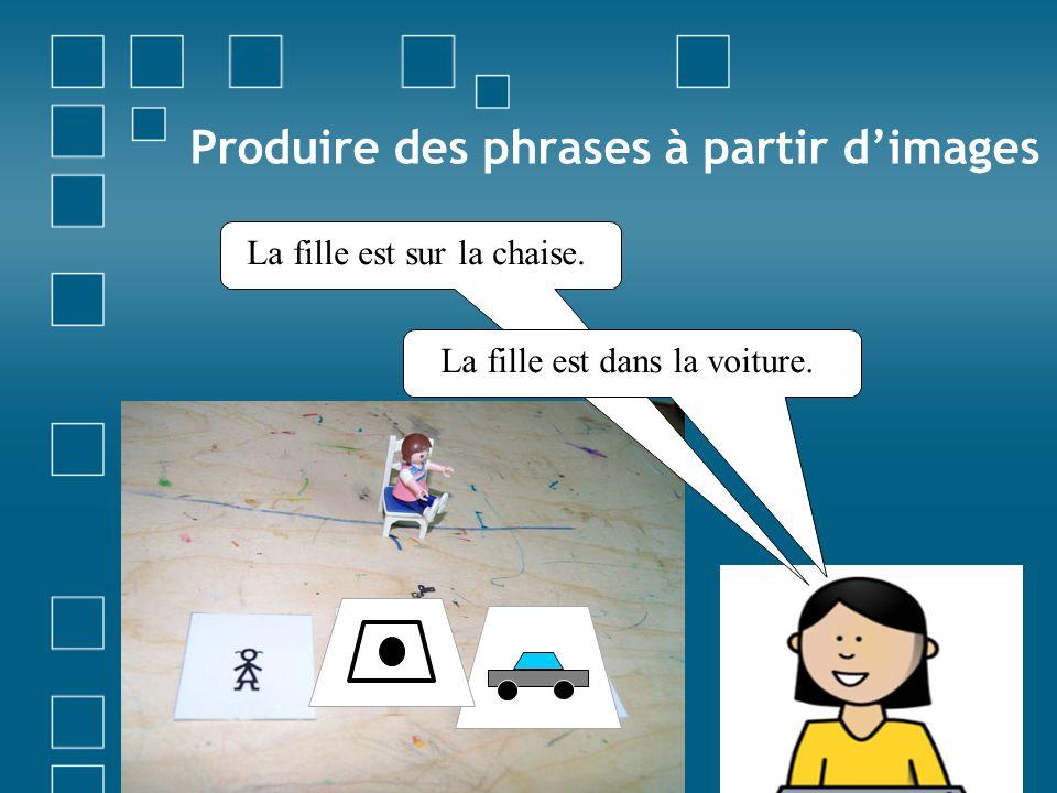 Produire des phrases à partir d'images