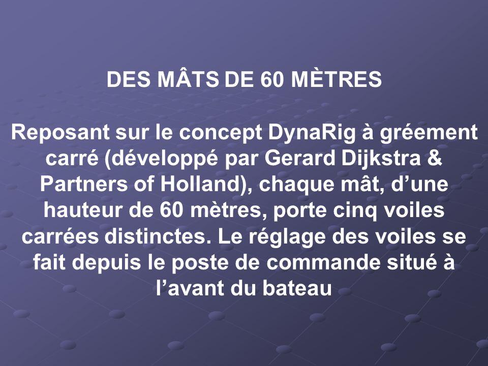 DES MÂTS DE 60 MÈTRES