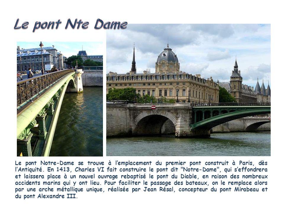 Le pont Nte Dame