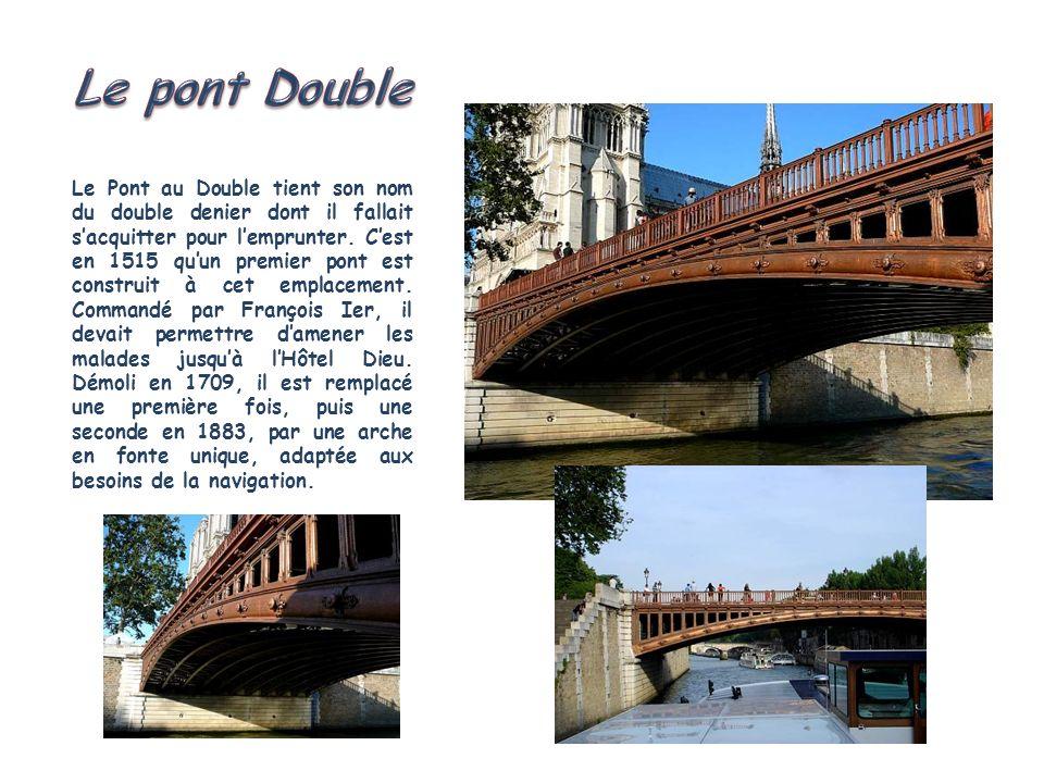 Le pont Double