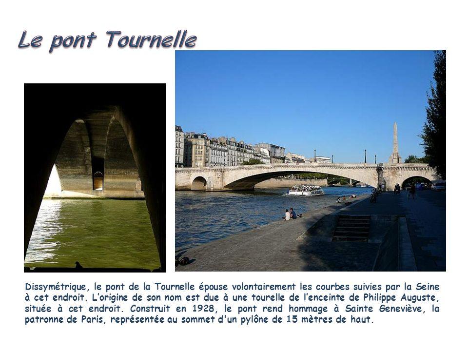 Le pont Tournelle