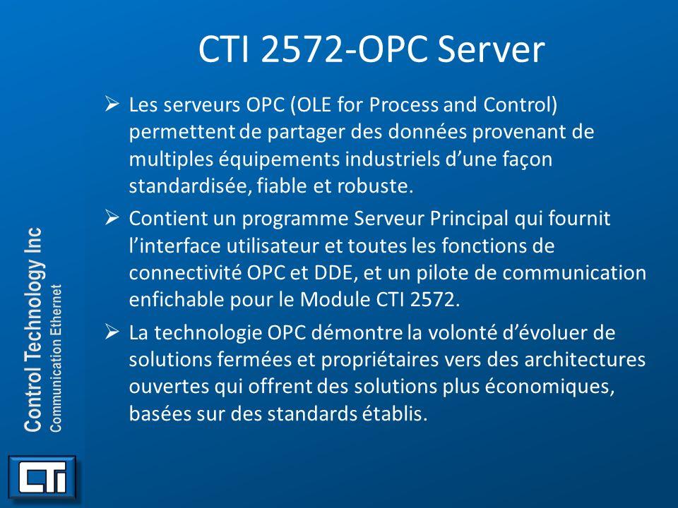 CTI 2572-OPC Server