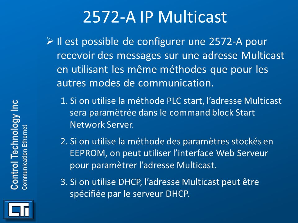 2572-A IP Multicast