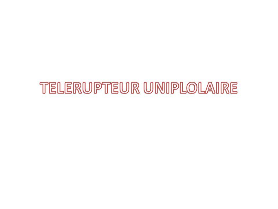 TELERUPTEUR UNIPLOLAIRE