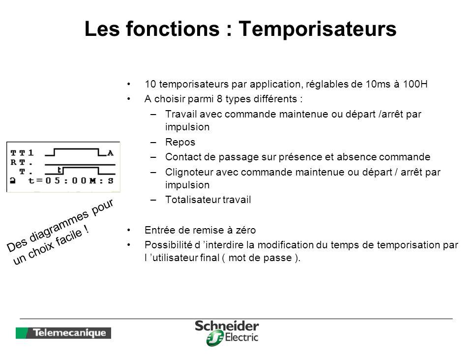Les fonctions : Temporisateurs