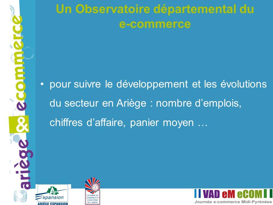 Un Observatoire départemental du