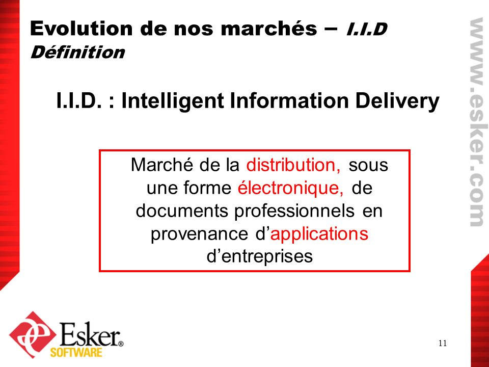 I.I.D. : Intelligent Information Delivery
