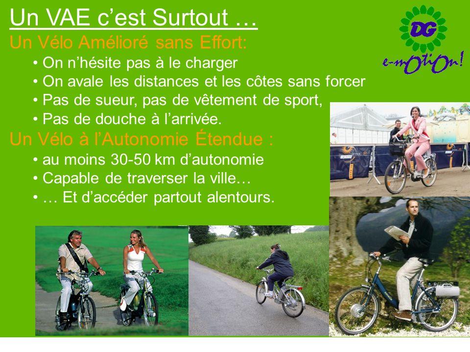Un VAE c'est Surtout … Un Vélo Amélioré sans Effort: