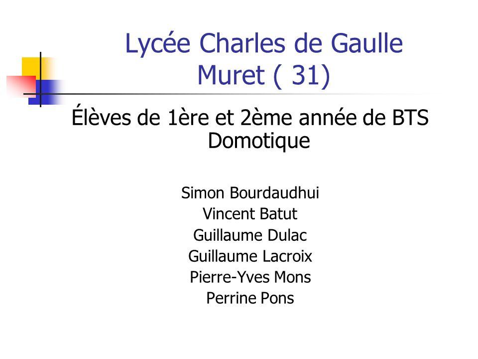 Lycée Charles de Gaulle Muret ( 31)