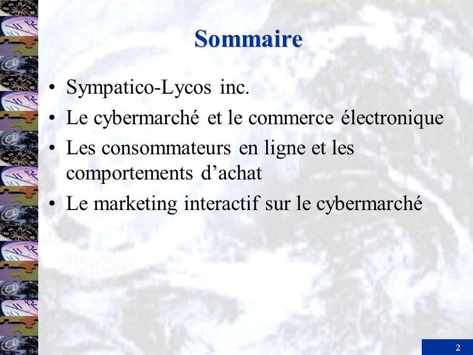 Sommaire Sympatico-Lycos inc.
