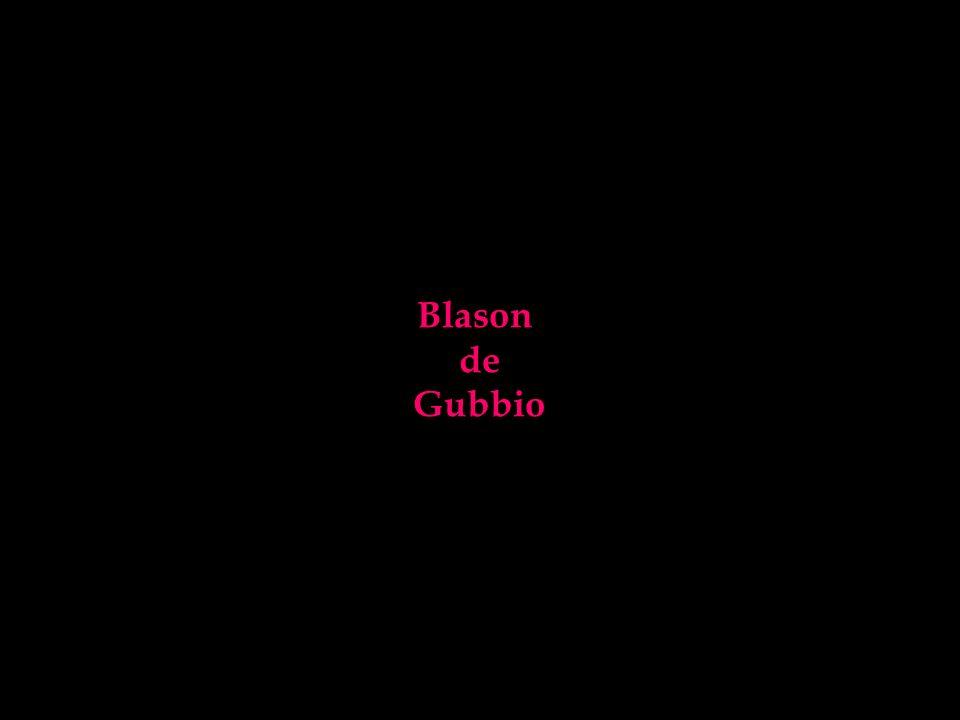 Blason de Gubbio