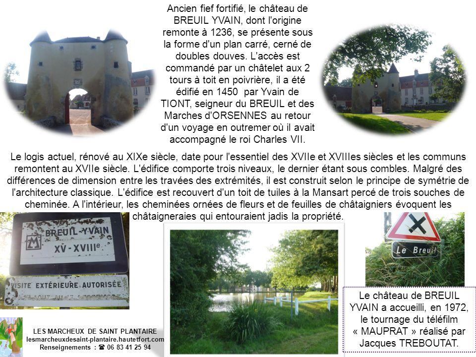 LES MARCHEUX DE SAINT PLANTAIRE