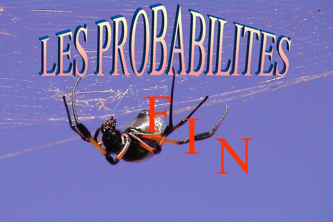 LES PROBABILITES F I N