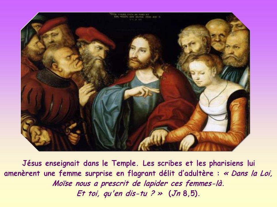 Jésus enseignait dans le Temple