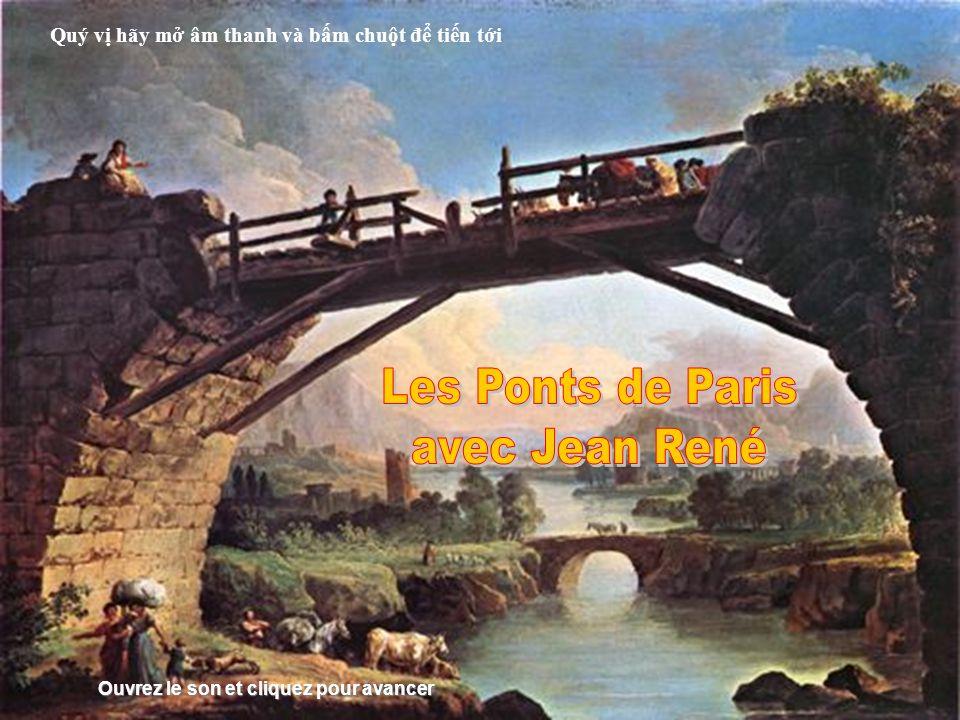 Les Ponts de Paris avec Jean René