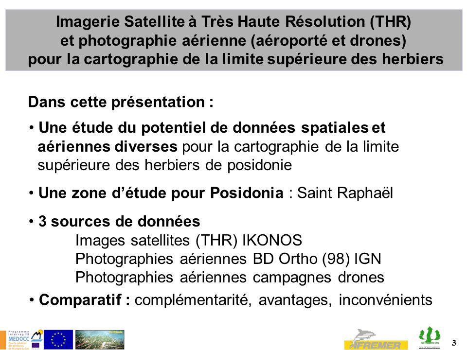 Imagerie Satellite à Très Haute Résolution (THR)