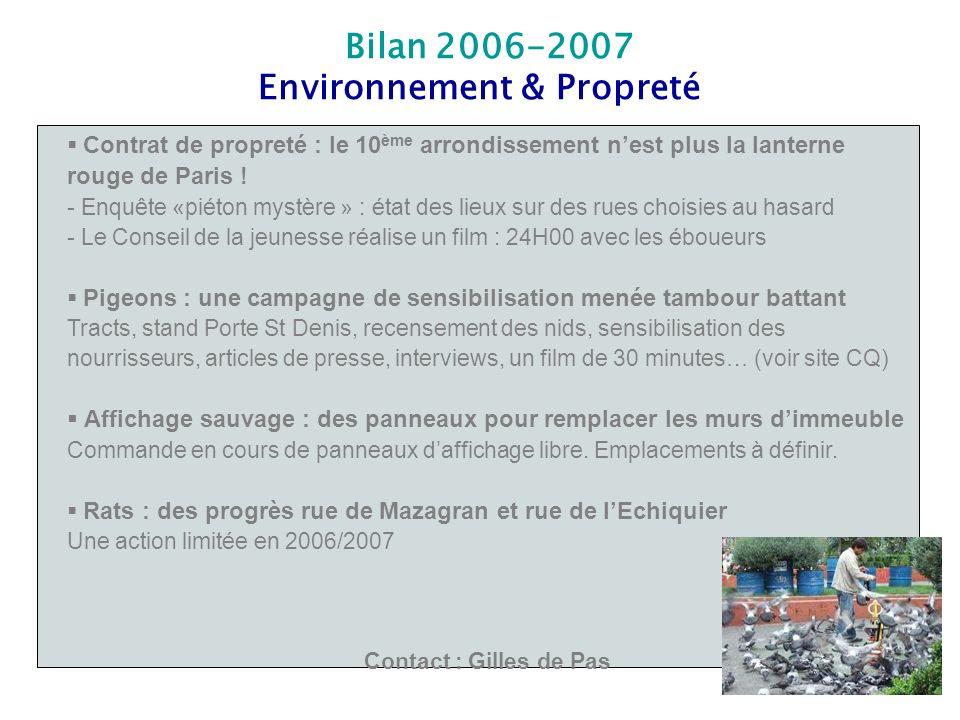 Environnement & Propreté
