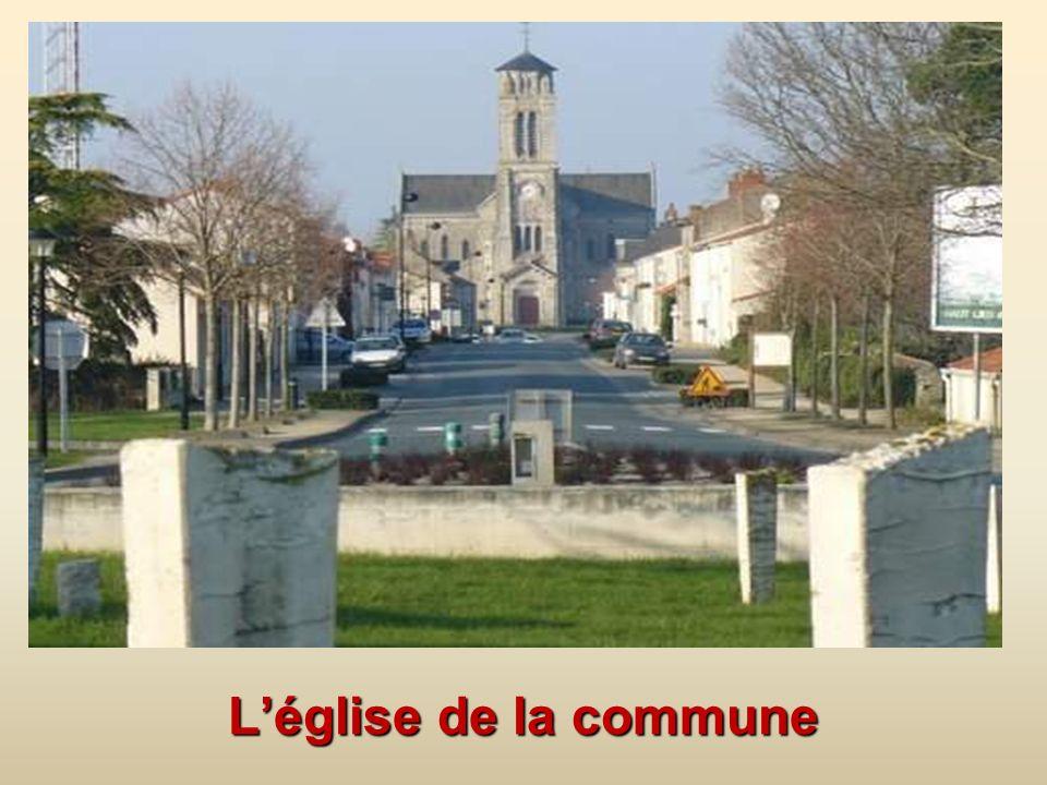 L'église de la commune