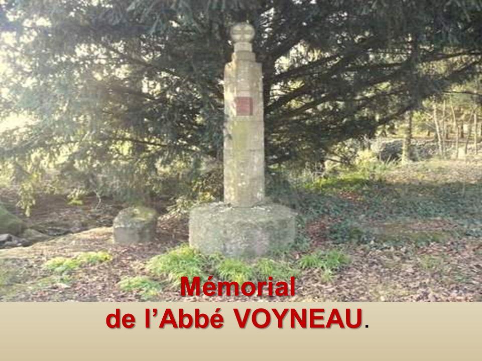 Mémorial de l'Abbé VOYNEAU.