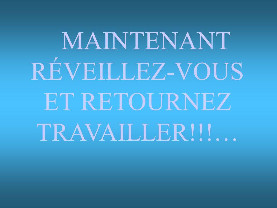ET RETOURNEZ TRAVAILLER!!!…