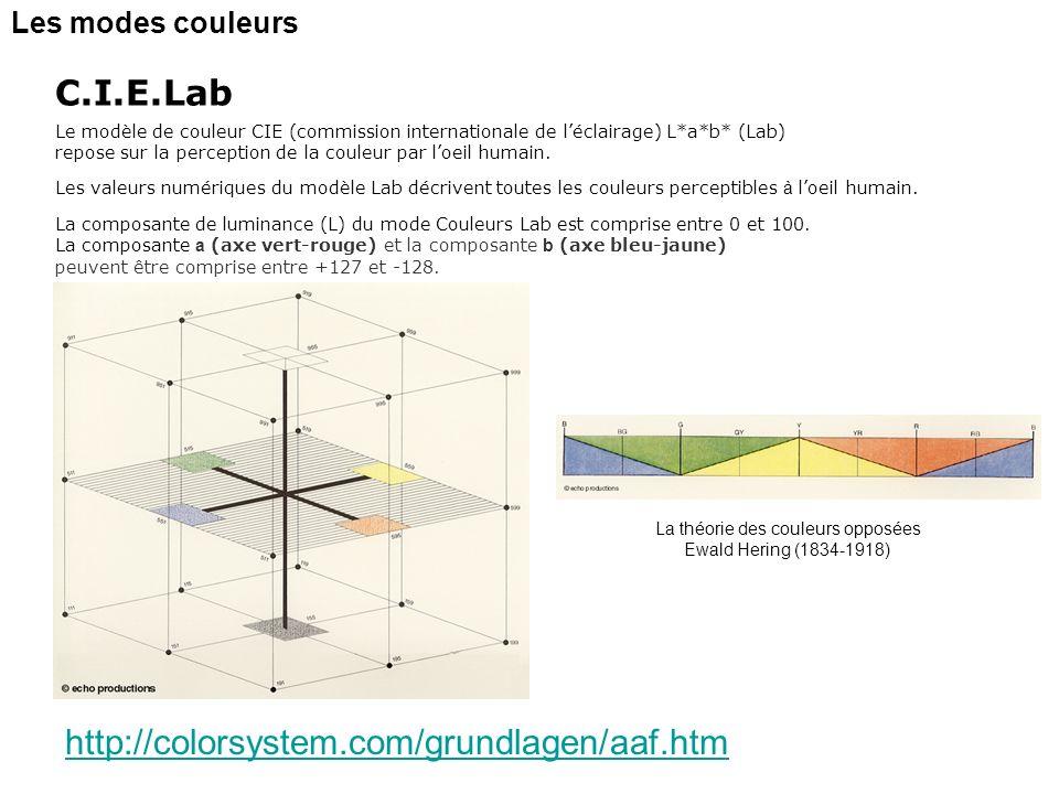 La théorie des couleurs opposées