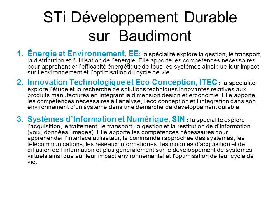 STi Développement Durable sur Baudimont