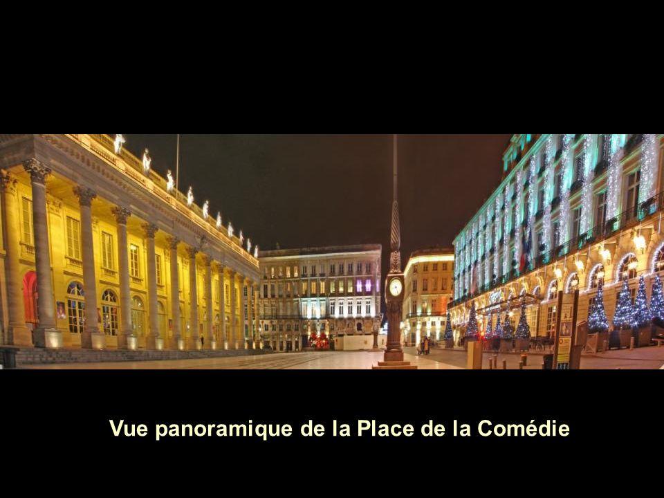 Vue panoramique de la Place de la Comédie