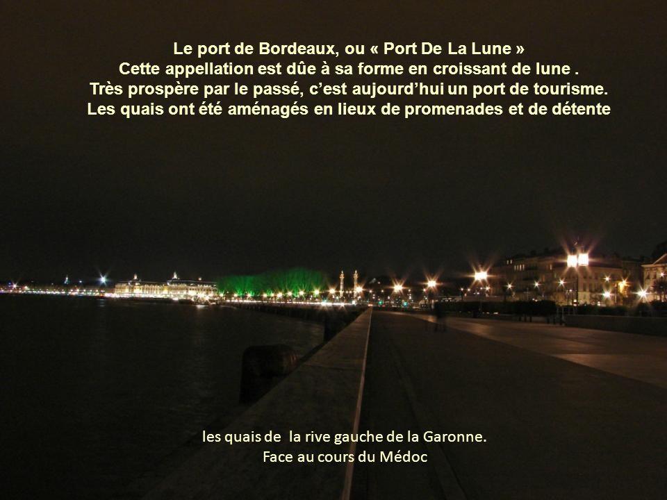 les quais de la rive gauche de la Garonne.
