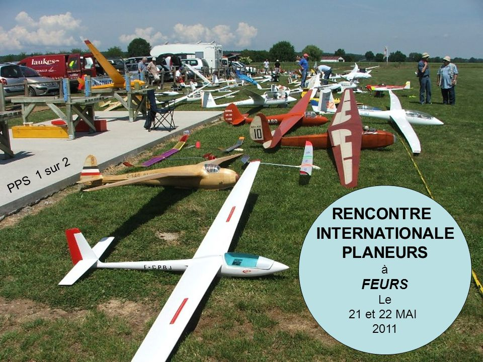 RENCONTRE INTERNATIONALE PLANEURS