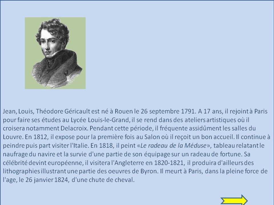 Jean, Louis, Théodore Géricault est né à Rouen le 26 septembre 1791