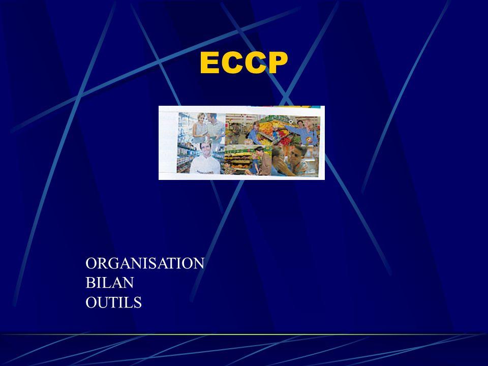 ECCP ORGANISATION BILAN OUTILS