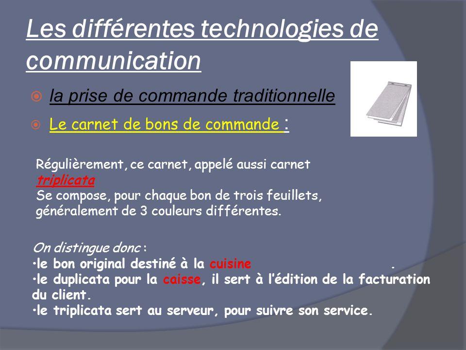 Les différentes technologies de communication