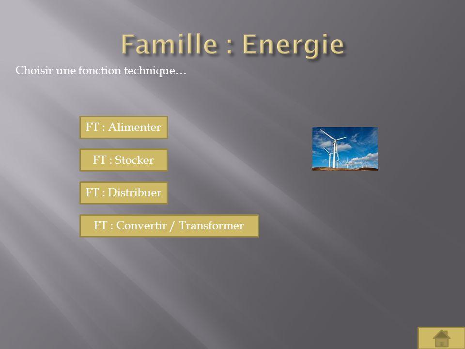 FT : Convertir / Transformer