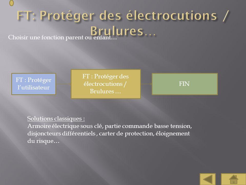 FT: Protéger des électrocutions / Brulures…