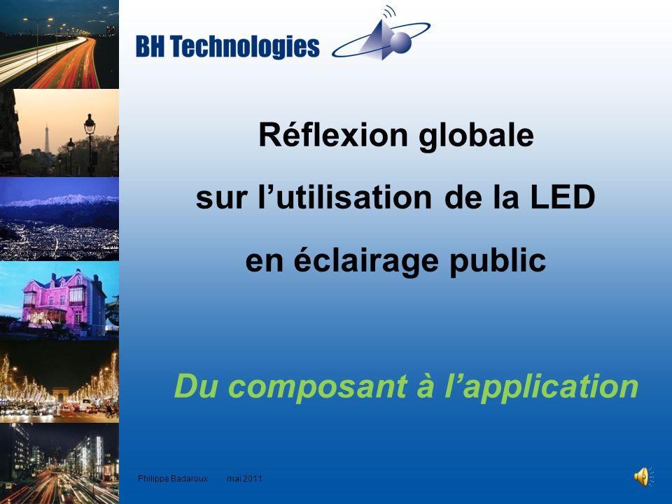 sur l'utilisation de la LED Du composant à l'application