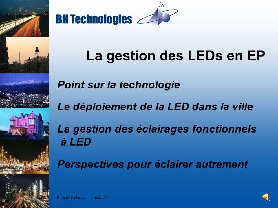 La gestion des LEDs en EP