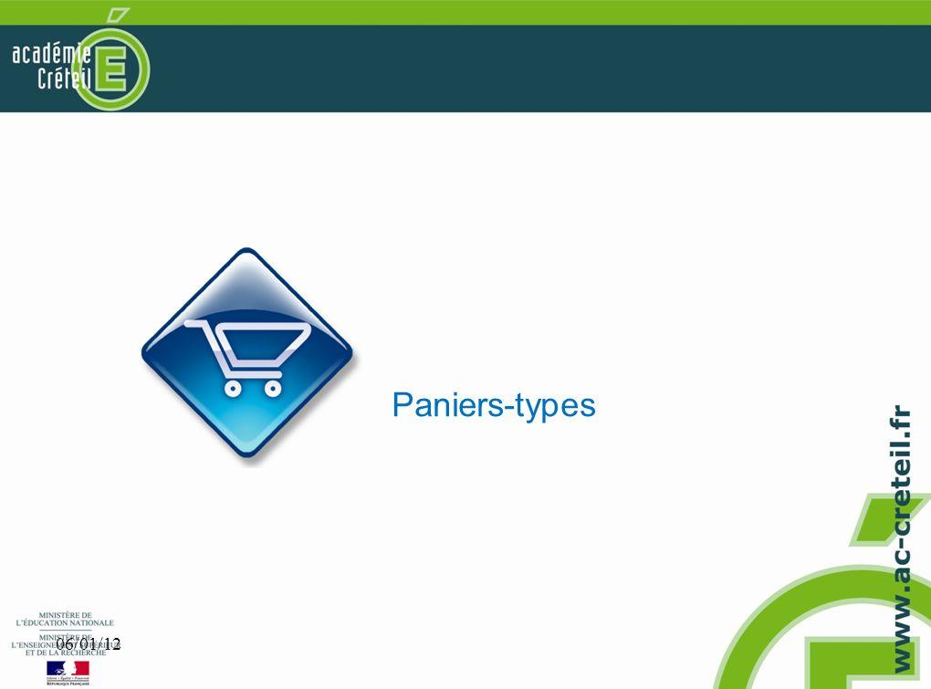 Paniers-types 06/01/12