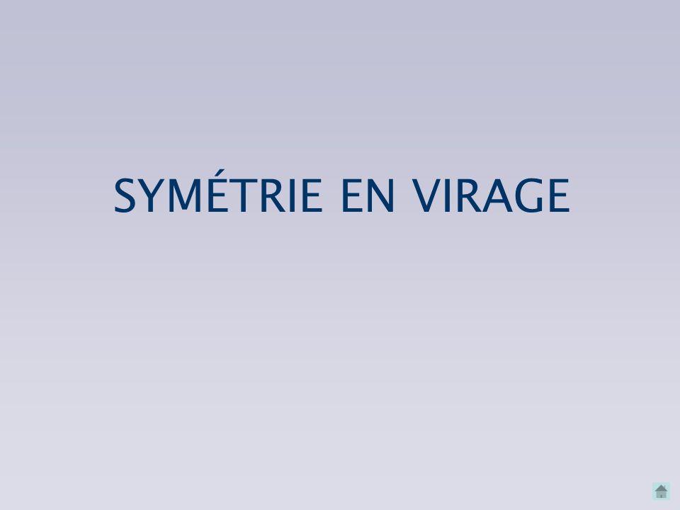 SYMÉTRIE EN VIRAGE