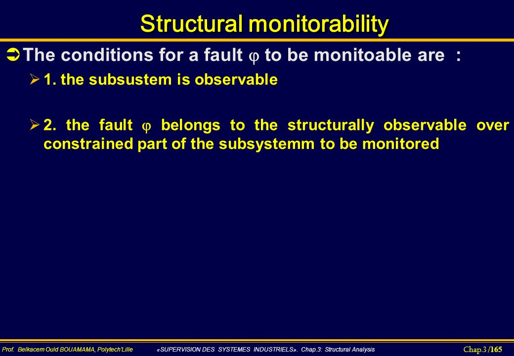 Structural monitorability