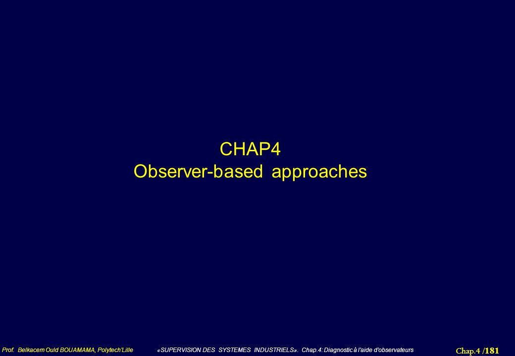 CHAP4 Observer-based approaches